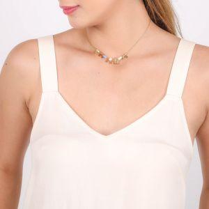 MYA small disc dangle necklace