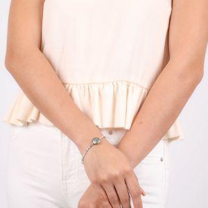 LES COMPLICES-CORAZON bracelet extensible COEUR argent