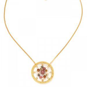 DREAMY dream catcher necklace