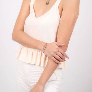 LENNIE  bracelet mini perles multicouleurs