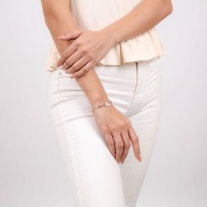 VALORINE center disc bracelet