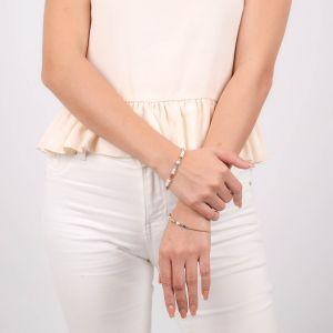 VALORINE button stretch bracelet