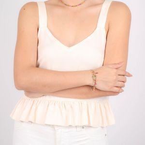 ALINA multi-row bracelet