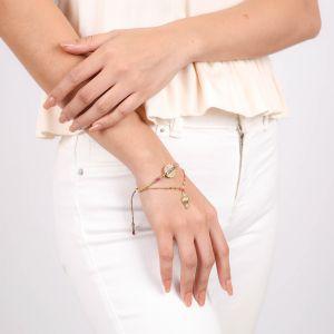 ALINA bracelet jonc tissé