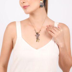 LENNIE  collier pendentif asymétrique