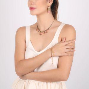 ALINA multi-dangle necklace